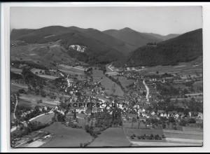 ZZ-2626/ Klingenmünster Foto seltenes Luftbild ca.1938 18 x 13 cm