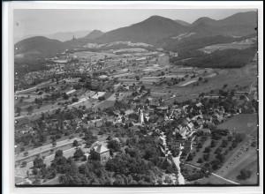 ZZ-2628/ Gossersweiler-Stein Foto seltenes Luftbild ca.1938 18 x 13 cm
