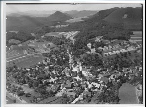 ZZ-2630/ Gossersweiler-Stein Foto seltenes Luftbild ca.1938 18 x 13 cm