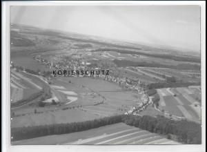 ZZ-2680/ Rieschwweiler Foto seltenes Luftbild ca. 1936 18 x 13 cm