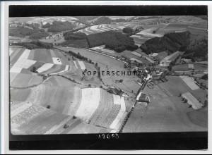 ZZ-2679/ NIederhausen Foto seltenes Luftbild ca. 1936 18 x 13 cm