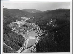 ZZ-2674/ Lindenberg bei Neustadt Foto seltenes Luftbild ca. 1938 18 x 13 cm