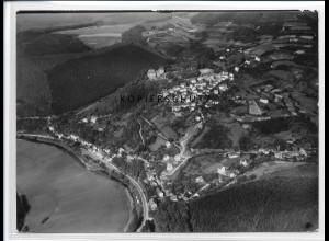 ZZ-2672/ Freusburg b. Kirchen Sieg Foto seltenes Luftbild 1938 18 x 13 cm