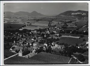 ZZ-2645/ Böchingen Foto seltenes Luftbild 1935 18 x 13 cm