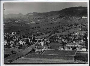 ZZ-2646/ Hainfeld Foto seltenes Luftbild 1935 18 x 13 cm