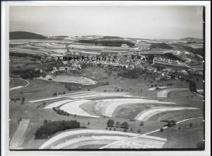 ZZ-2650/ Baumholder Foto seltenes Luftbild ca.1938 18 x 13 cm