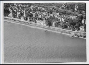 ZZ-2651/ Erpel bei Unkel Foto seltenes Luftbild ca.1938 18 x 13 cm