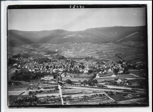 ZZ-2659/ Deidesheim Foto seltenes Luftbild ca.1938 18 x 13 cm