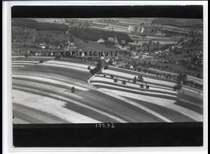 ZZ-2663/ Breitenbach bei St. Wendel Foto seltenes Luftbild ca.1938 18 x 13 cm