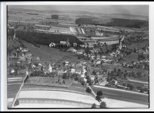 ZZ-2664/ Breitenbach bei St. Wendel Foto seltenes Luftbild ca.1938 18 x 13 cm