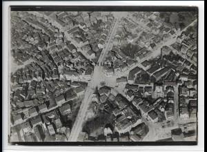 ZZ-2894/ Darmstadt Foto seltenes Luftbild ca.1938 18 x 13 cm