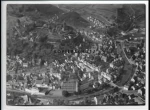 ZZ-2790/ Dillenburg Foto seltenes Luftbild 1938 18 x 13 cm