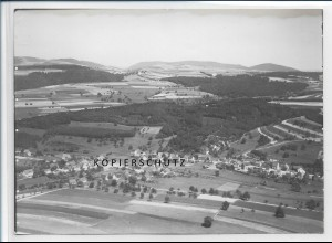 ZZ-2831/ Stegen bei Kusel Foto seltenes Luftbild ca.1935 18 x 13 cm