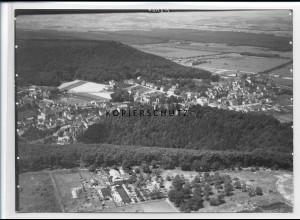 ZZ-2832/ Landstuhl Foto seltenes Luftbild ca.1935 18 x 13 cm