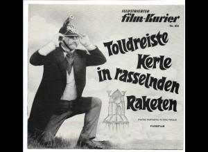 C3646/ Filmprogramm Film-Kurier Nr.221 Tolldreiste Kerle in rasselnden Raketen