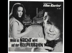 C3644/ Filmprogramm Film-Kurier Nr.209 Wenn es Nacht wird auf der Reeperbahn