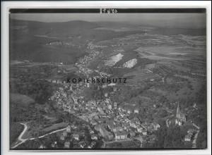 ZZ-2763/ Sonnenberg bei Wiesbaden Foto seltenes Luftbild ca.1935 18 x 13 cm