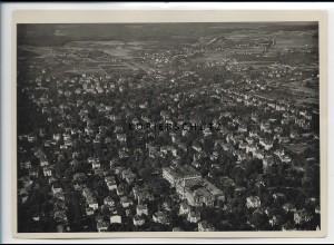 ZZ-4180/ Wiesbaden Foto seltenes Luftbild 1936 18 x 13 cm