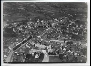 ZZ-2882/ Schlüchtern Foto seltenes Luftbild 1937 18 x 13 cm