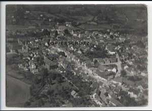 ZZ-2881/ Schlüchtern Foto seltenes Luftbild 1937 18 x 13 cm