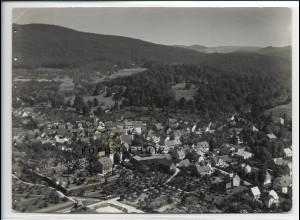 ZZ-2766/ Seeheim-Jugenheim Foto seltenes Luftbild 1937 18 x 13 cm