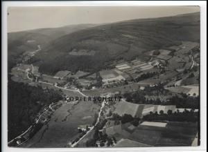 ZZ-2769/ Unter-Finkenbach Foto seltenes Luftbild 1937 18 x 13 cm