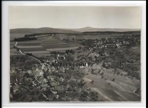 ZZ-2770/ Rothenberg Odenwald Foto seltenes Luftbild ca.1938 18 x 13 cm