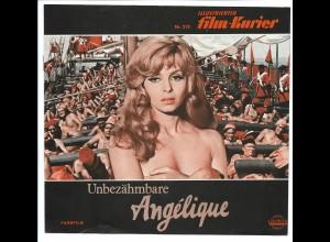 C3640/ Filmprogramm Film-Kurier Nr.219 Unbezähmbare Angelique Michele Mercier