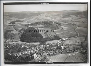ZZ-2774/ Reichelsheim b. Wetterau Foto seltenes Luftbild ca.1938 18 x 13 cm