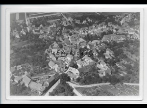 ZZ-2876/ Ravolzhausen b. Neuburg Foto seltenes Luftbild 1937 18 x 12 cm