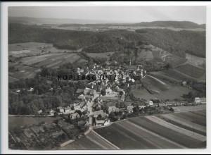 ZZ-5207/ Castell i. Steigerwald Foto seltenes Luftbild 18 x 13 cm ca.1935