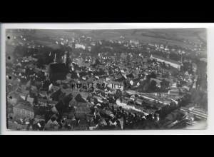 ZZ-2988/ Amberg Foto seltenes Luftbild 1937 18 x 9 cm