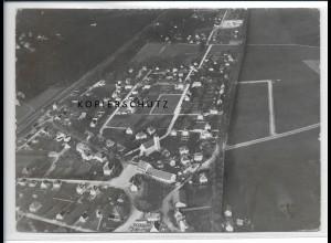 ZZ-3012/ Haar Bayern Foto seltenes Luftbild 1938 18 x 13 cm