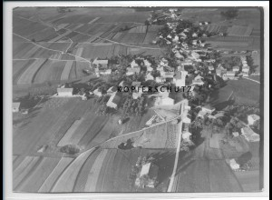 ZZ-3013/ Halfing Foto seltenes Luftbild 1938 18 x 13 cm