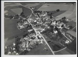 ZZ-3014/ Hebertshausen Foto seltenes Luftbild 1937 18 x 13 cm