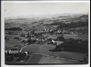 ZZ-3015/ Heimenkirch Foto seltenes Luftbild 1937 18 x 13 cm