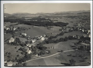 ZZ-3016/ Heimenkirch Foto seltenes Luftbild 1935 18 x 13 cm