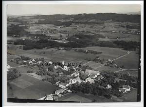 ZZ-3018/ Hergensweiler Foto seltenes Luftbild 1935 18 x 13 cm
