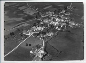 ZZ-3019/ Hettenshausen Foto seltenes Luftbild 1937 18 x 13 cm