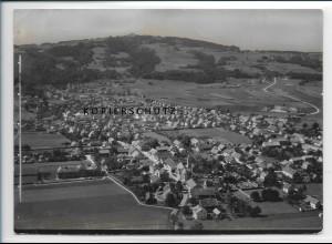 ZZ-3022/ Peissenberg Foto seltenes Luftbild 1936 18 x 13 cm