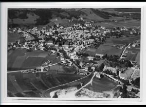 ZZ-3023/ Peiting Foto seltenes Luftbild 1936 17,5 x 12 cm