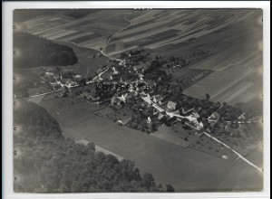 ZZ-3026/ Ritzisried bei Buch Foto seltenes Luftbild 1937 18 x 13 cm