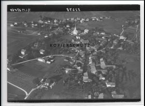 ZZ-3027/ Chieming am Chiemsee Foto seltenes Luftbild 1938 18 x 13 cm