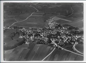 ZZ-3031/ Diedorf Foto seltenes Luftbild 1937 18 x 13 cm