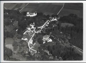 ZZ-3032/ Kronwinkl bei Eching Foto seltenes Luftbild ca.1936 18 x 13 cm