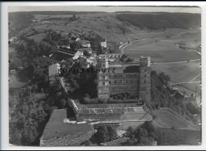 ZZ-3033/ Eichstätt Willibaldsburg Foto seltenes Luftbild 1936 18 x 13 cm