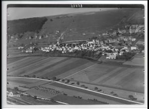 ZZ-3034/ Ober-Eichstätt Foto seltenes Luftbild 1936 18 x 13 cm