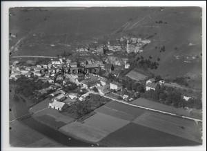 ZZ-3035/ Ober-Eichstätt Foto seltenes Luftbild 1936 18 x 13 cm