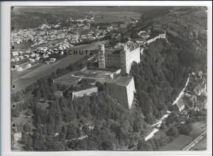 ZZ-3036/ Eichstätt Willibaldsburg Foto seltenes Luftbild 1936 18 x 13 cm