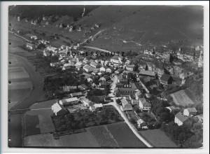 ZZ-3038/ Ober-Eichstätt Foto seltenes Luftbild 1936 18 x 13 cm